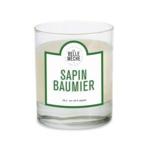 Bougie Parfumée Sapin Baumier – La Belle Mèche