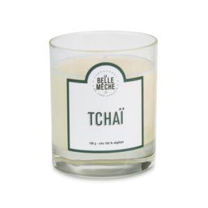 Bougie parfumée Tchai – La Belle Mèche