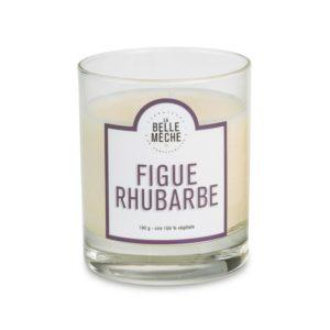 Bougie parfumée Figue Rhubarbe – La Belle Mèche