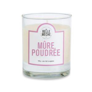 Bougie parfumée Mûre poudrée – La Belle Mèche