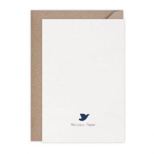 Carte en vol – Monsieur Papier