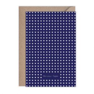 carte grand bisou – Monsieur Papier
