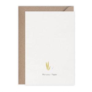Carte Snorkeling – Monsieur Papier