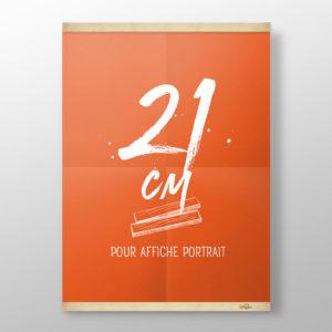 Cadre 21cm – Grip Poster