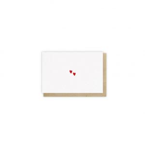 Mini carte Cœurs – Monsieur Papier