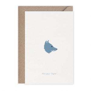 Carte Chaperon – Monsieur Papier