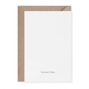 Carte French Holidays – Monsieur Papier