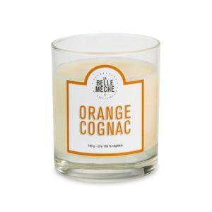 Bougie parfumée Orange Cognac – La Belle Mèche