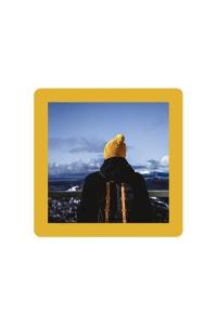 Cadre jaune moutarde  10×10 – SlimPYX