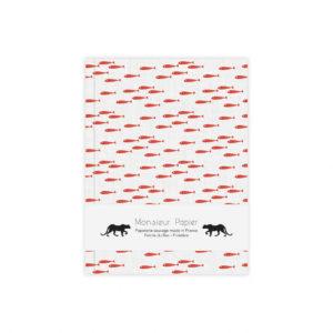 Carnet s Poissons rouges – Monsieur Papier