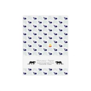 Carnet S Baleines – Monsieur Papier