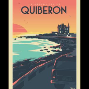 Affiche Marcel  Bretagne Quiberon  ( 30×40 cm) – Marcel