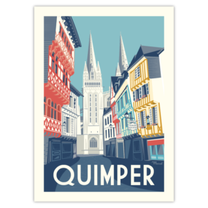 Affiche Marcel  Bretagne Quimper ( 30×40 cm) – Marcel