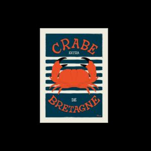 Carte Crabe de Bretagne – Marcel