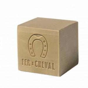 Savon de Marseille olive cube 300gr – Fer à Cheval