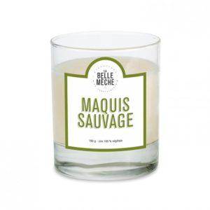 Bougie Maquis sauvage – La Belle Mèche