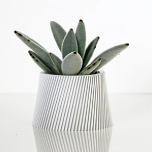 Cache-pot en bioplastic Lyna – Ikon