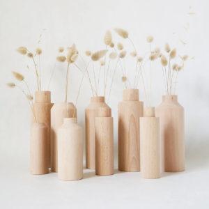Soliflore en bois – An°So