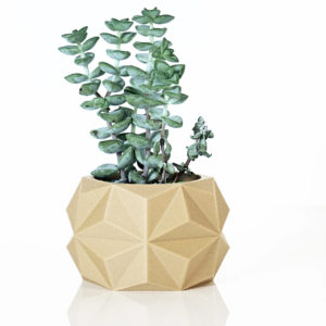 Cache-pot en bioplastic Haku – Ikon