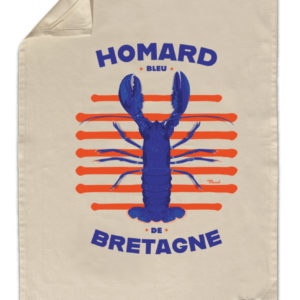 Torchon de cuisine Homard de Bretagne – Marcel Travel Posters