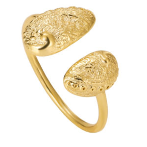 Bague Lostmarch doré à l'or fin – Armeria