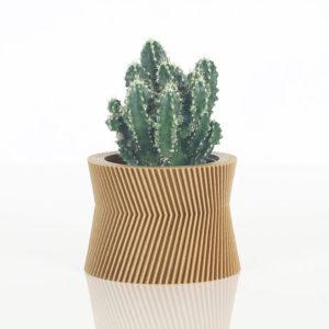 Cache-pot en bioplastic Tory – Ikon