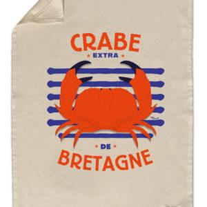 Torchon de cuisine Crabe de Bretagne – Marcel Travel Posters