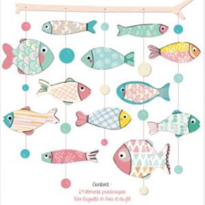Mobile à fabriquer poissons – Les cahiers de Constance