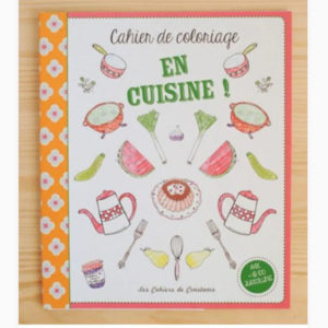 Cahier de coloriage en cuisine – Les cahiers de Constance
