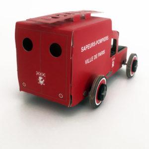 Autogamie camion de pompiers de Paris