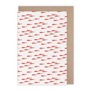 Carte poissons rouges  – Monsieur Papier