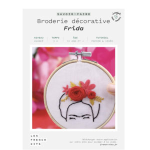 Broderie Frida  – French Kits