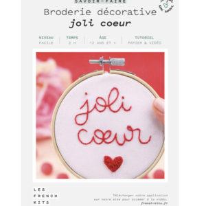 Broderie Joli cœur  – French Kits
