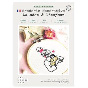 Broderie La mère et l'enfant   – French Kits