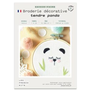 Broderie Panda – French Kits