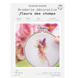 Broderie Fleurs des champs – French Kits