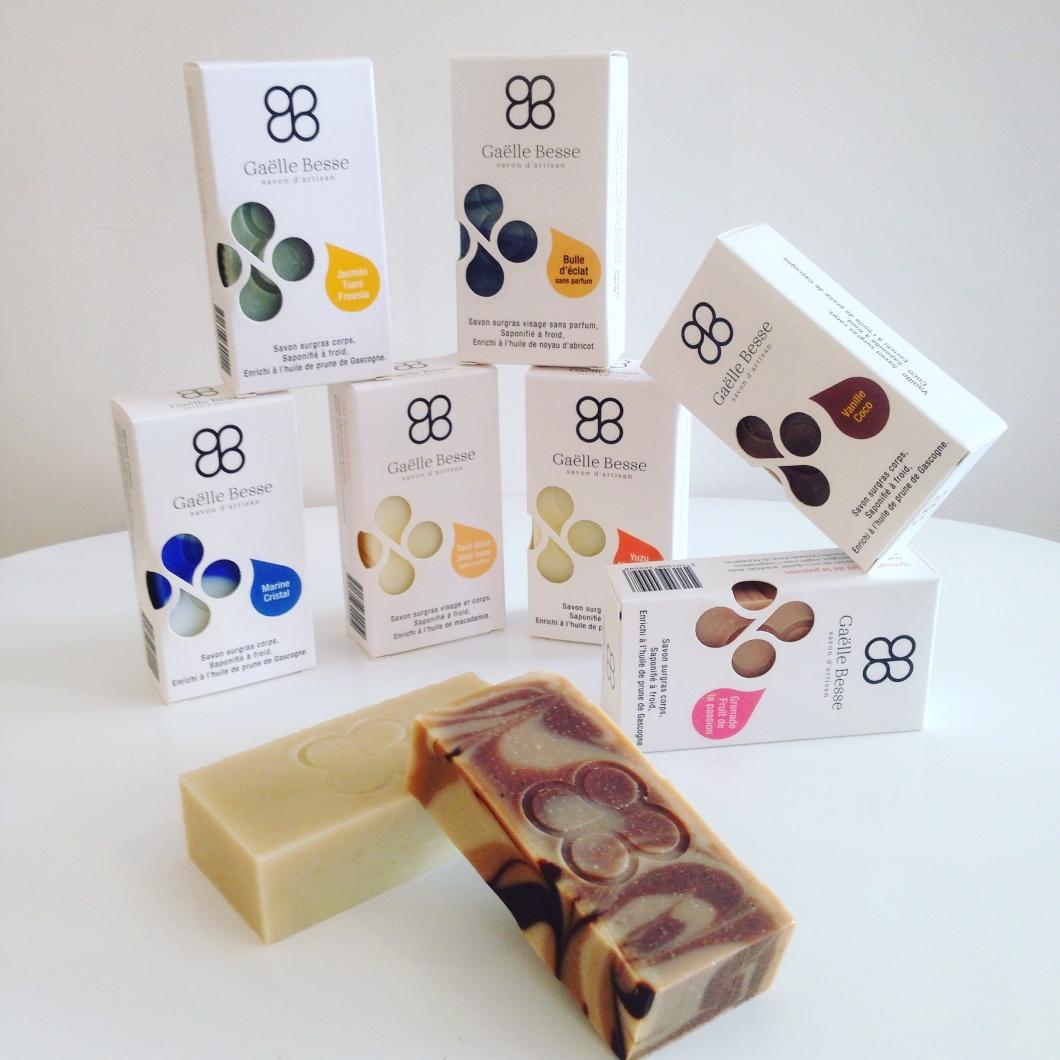 Gaëlle Besse, une collection de savons artisanaux et haut gamme